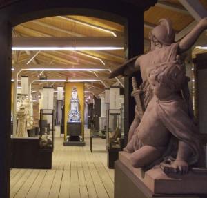 Blick in das Ofen- und Keramikmuseum
